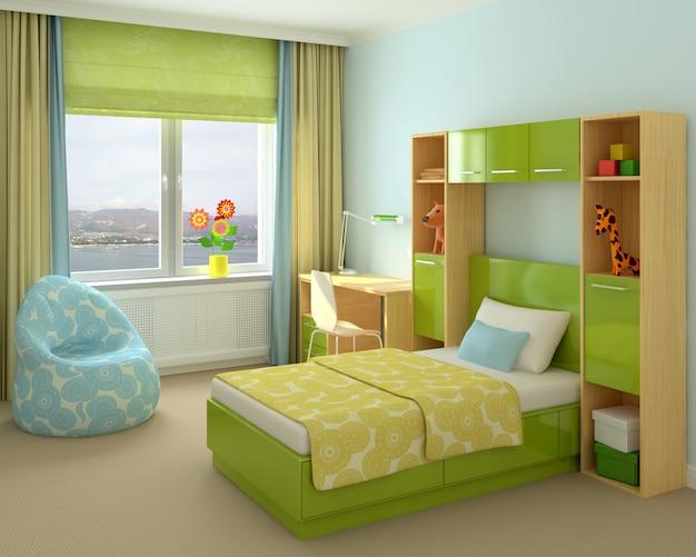 Pokój dziecięcy w domu