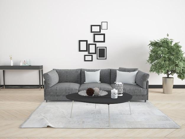 Pokój dzienny z sofą