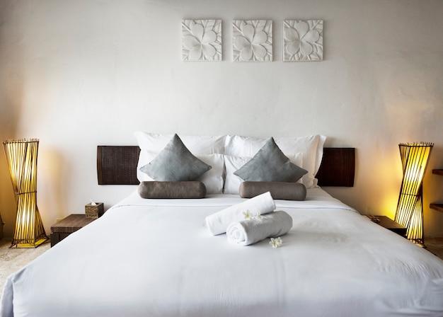 Pokój hotelowy w luksusowym kurorcie