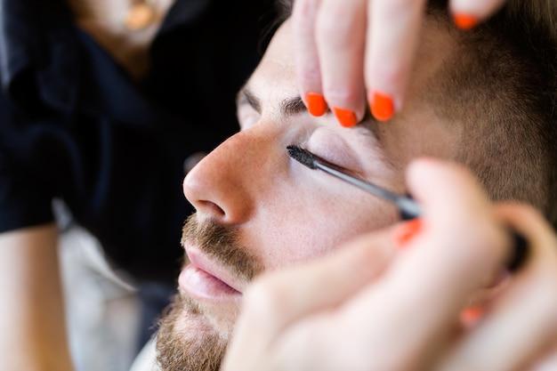 Pokój makijaż piękna kosmetyczka kosmetyki