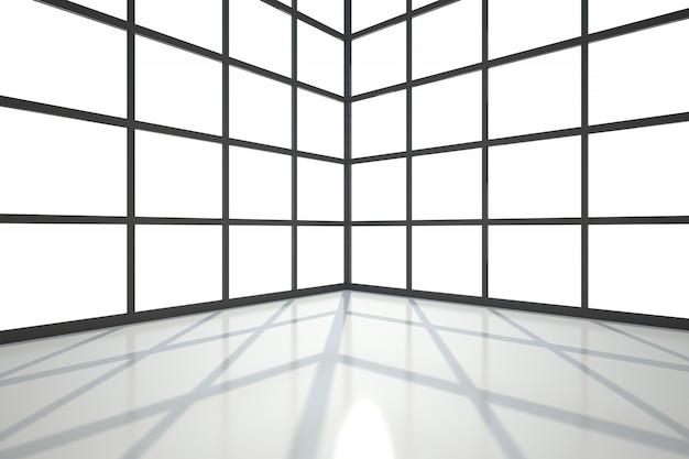 Pokój pokryty oknami