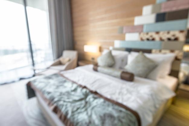 Pokój w hotelu rozmazane tło
