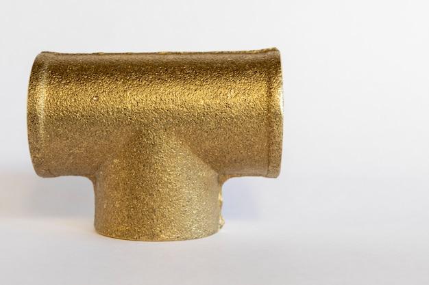 Połączenie miedziane w kształcie litery t do rurociągów gazowych