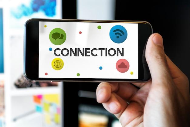 Połączenie online