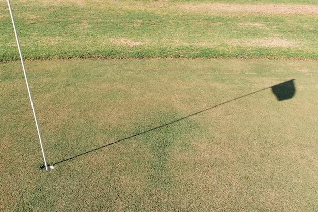 Pole golfowe na zewnątrz