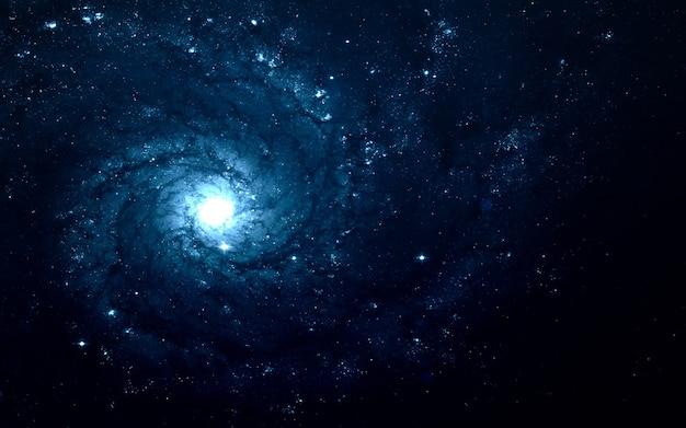 Pole gwiazd w przestrzeni kosmicznej, wiele lat świetlnych od ziemi. elementy tego zdjęcia dostarczone przez nasa