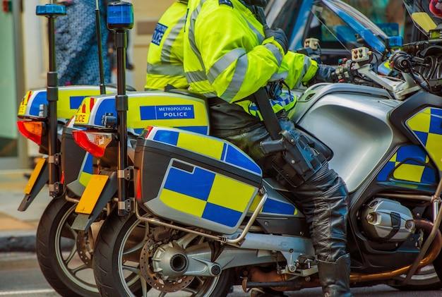 Policja motocyklowa w londynie