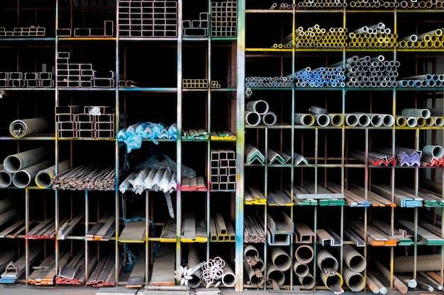 Półki ze stali nierdzewnej