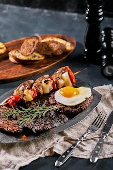 Półmisek mięs z grilla