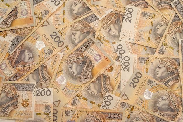 Polska 200 złotych banknotów
