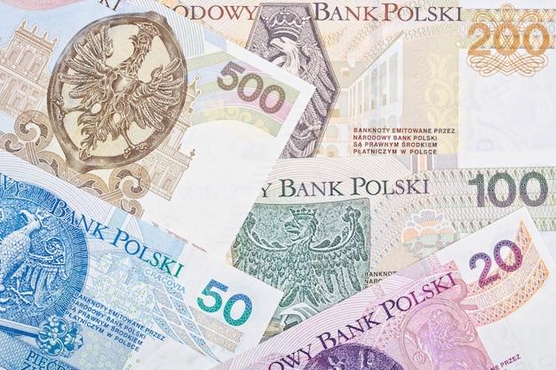 Polskie pieniądze - złoty otoczenie biznesu