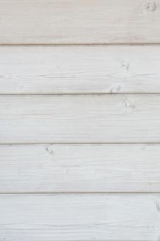 Pomalowana drewniana ściana z desek ułożonych poziomo zbliżenie