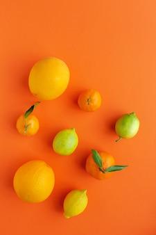 Pomarańcze, mandarynki i cytryny