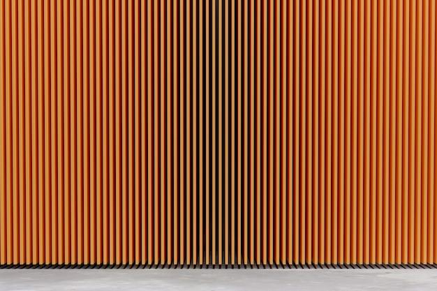 Pomarańczowa listwa bezpłatna do projektowania ścian, renderowania ilustracji 3d