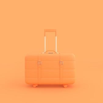 Pomarańczowa walizka