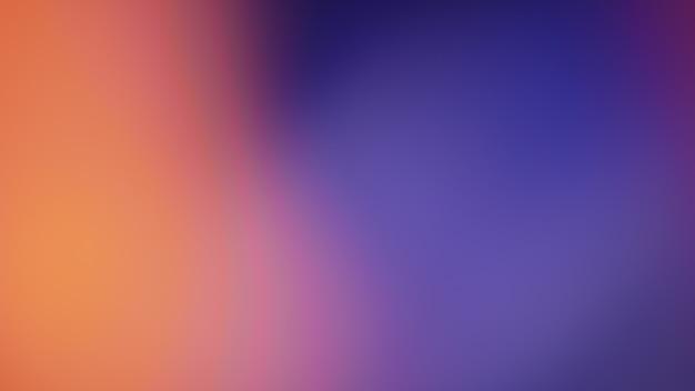 Pomarańczowe gradientowe niewyraźne streszczenie zdjęcie gładkie linie pantone kolor tła