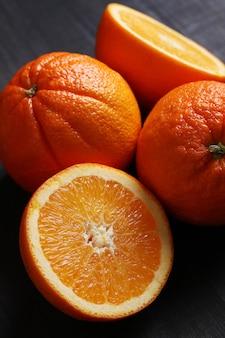 Pomarańczowe połówki