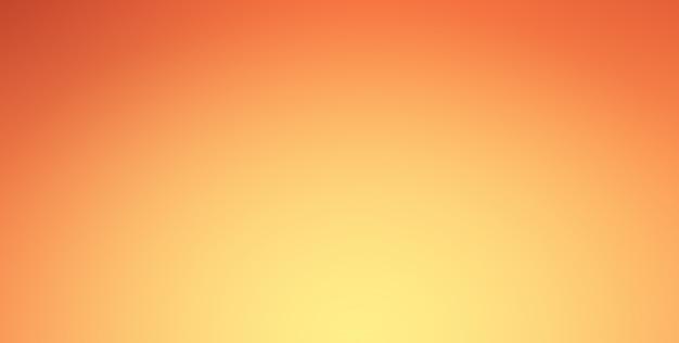 Pomarańczowe tło gradientowe z blaskiem reflektorów na granicy centrum i winiety.