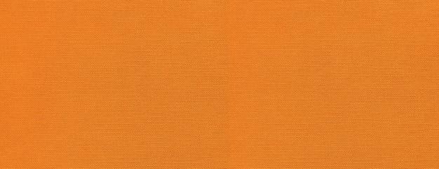 Pomarańczowy baner powierzchni tekstury płótna