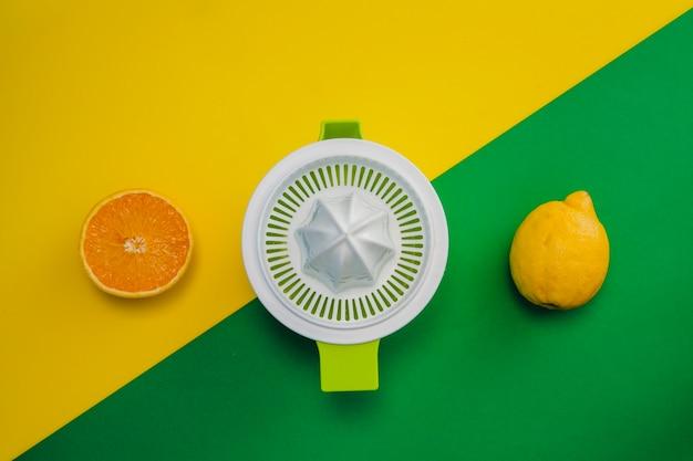 Pomarańczowy, cytrynowy i wyciskany