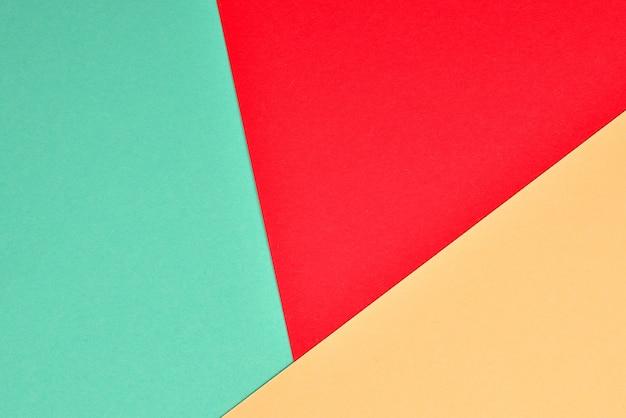 Pomarańczowy, czerwony, zielony kolorowe tło. miejsce na tekst lub projekt.