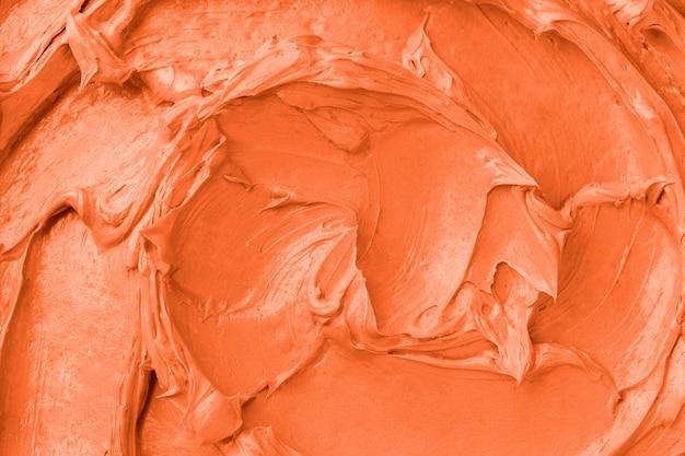 Pomarańczowy lukier tekstura tło zbliżenie