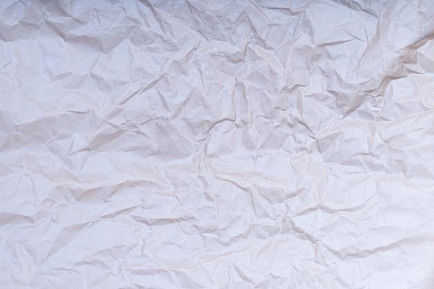 Pomarszczona tekstura papieru