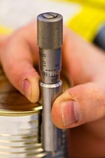 Pomiarowy mikrometru