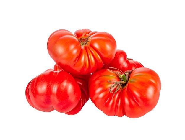 Pomidor na białym tle