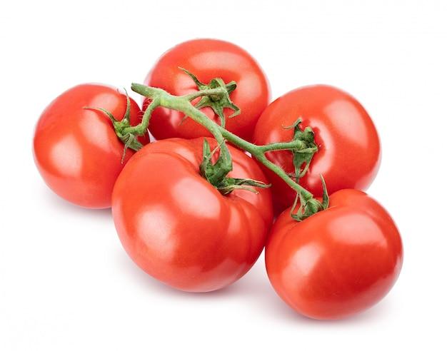 Pomidor odizolowywający na bielu