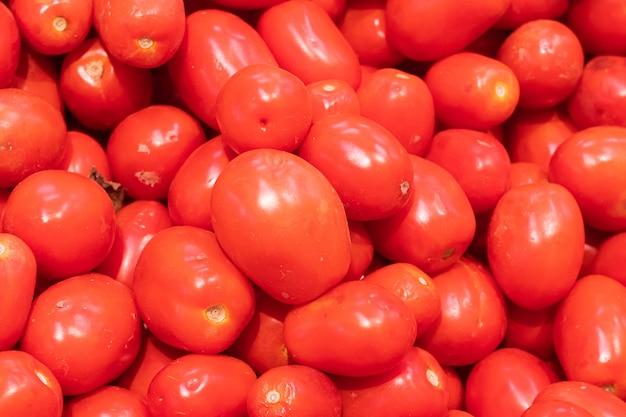 Pomidory w supermarkecie
