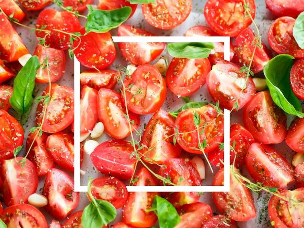 Pomidory z prowansalskimi ziołami