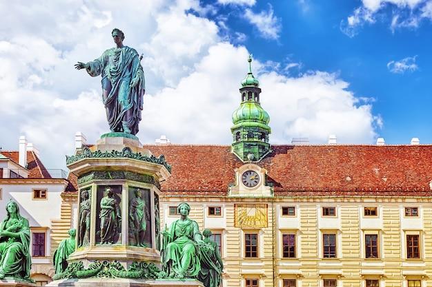 Pomnik cesarza franciszka i austrii