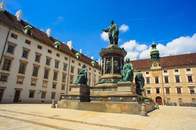 Pomnik cesarza franza w wiedniu