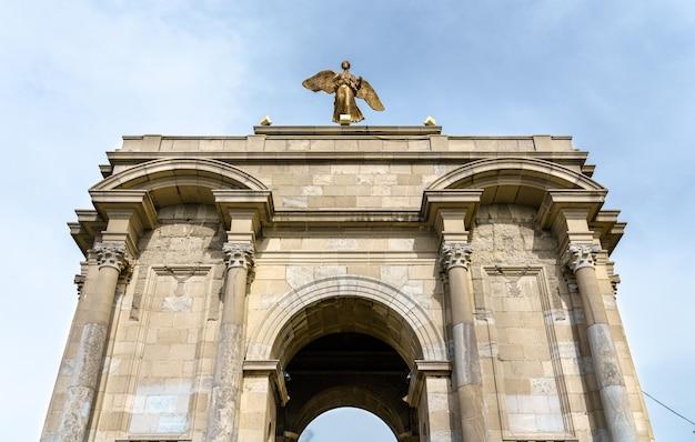Pomnik i wojny światowej w konstantynie w algierii. północna afryka