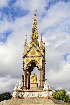 Pomnik księcia alberta w londynie, wielka brytania