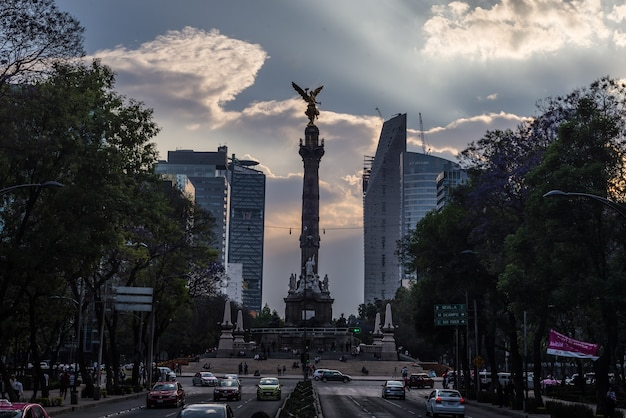 Pomnik niepodległości meksyk pomnik