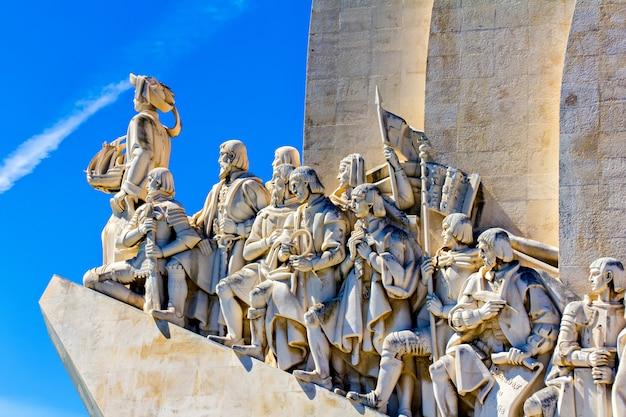 Pomnik odkrywców, lizbona, portugalia