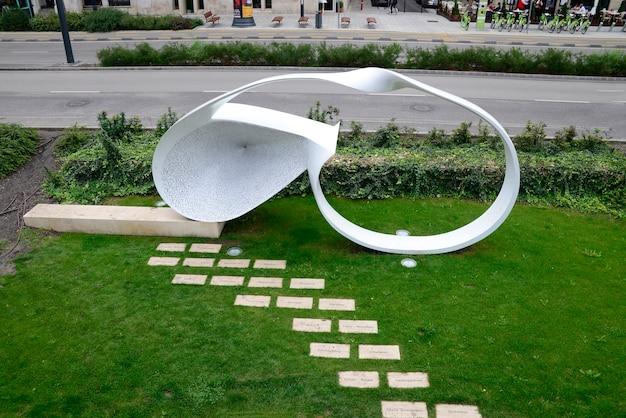 Pomnik ofiar holocaustu w budapeszcie