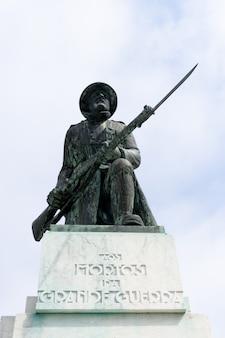 Pomnik pomnika poległych z wielkiej wojny w aveiro w portugalii