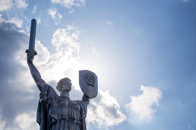 Pomnik radziecki w centrum kijowa