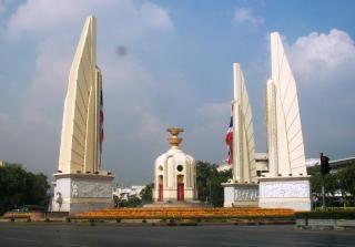 Pomnik w bangkoku