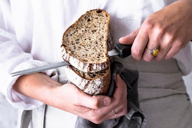 Pomysł na przepis na świeży domowy chleb