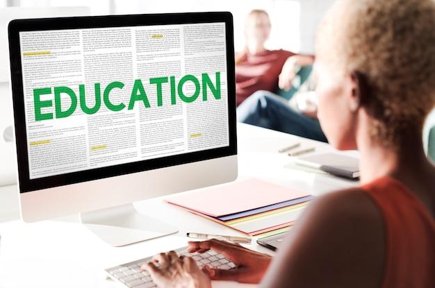 Pomysły na edukację wiedza nauka nauka koncepcja
