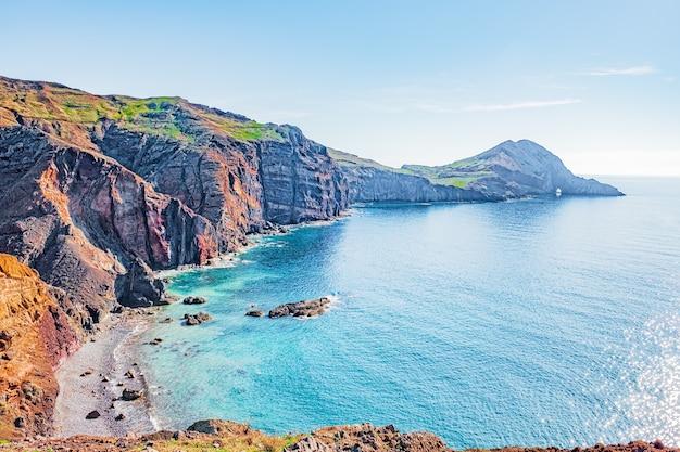 Ponta de sao lourenco, wschodnie wybrzeże wyspy madera, portugalia.