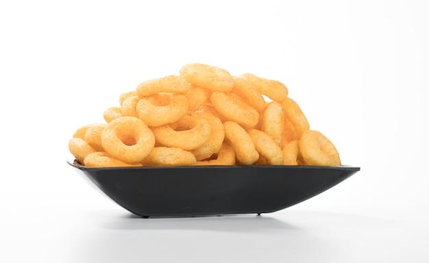 Pop pierścienie jedzenie