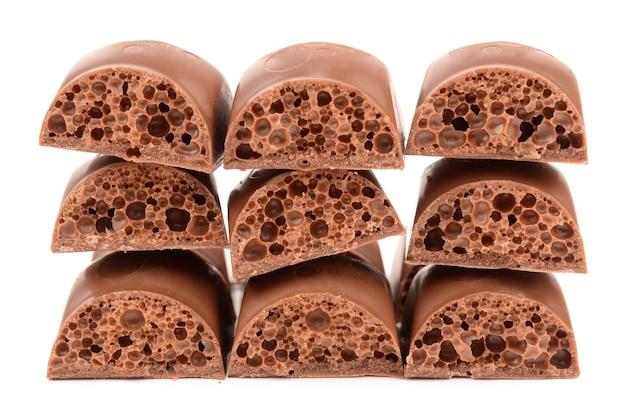 Porowata czekolada