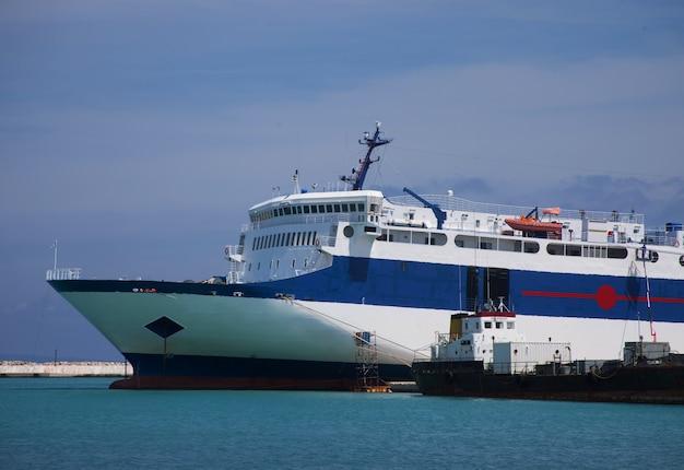 Port, zakinthos, grecja.