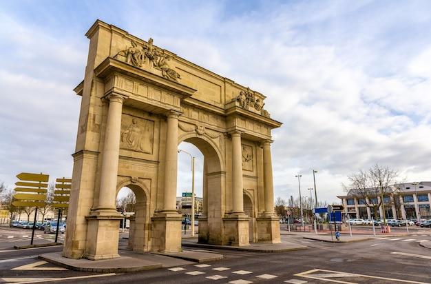 Porte sainte-catherine w nancy lorraine we francji