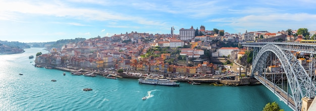 Porto panorama miasta portugalii